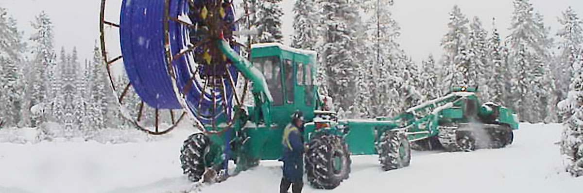 Spiderplow in Winter